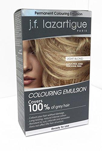 (J.f.lazartigue Colouring Emulsion Light Blonde )