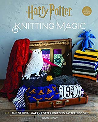 6 Harry Potter hand knitted mini figures unique design
