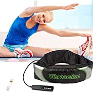 Electric Slimming Belt, Abdominal Massager Warm, Electric Exercise Heat Loss Weight Vibrating Shape Slimming M