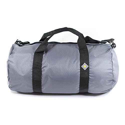Northstar Sports 1050 HD Tuff Cloth Diamond Ripstop Series Gear and Duffle Bag, 12 x 24-Inch, Slate Gray