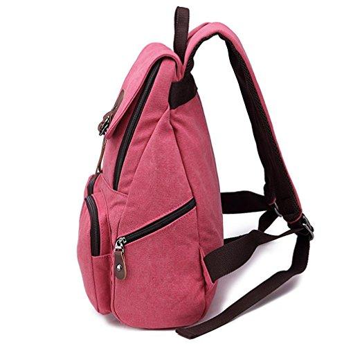 Xiuxiandianju Sacchetto di tela 20L - 35L il nuovo coreano canvas borsa a tracolla uomini e donne zaino scuola borse afflusso di borsa da viaggio selvaggio