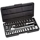 Allied Tools 86084 Mechanic Socket Set, 40-Piece