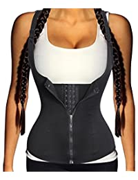Sauna Thermal Top Vest, Ursexyly Hot Sweat Shaper Waist Trainer for Fat Burning