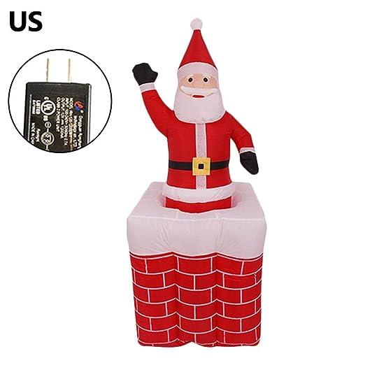 Desirabely - Muñeca Hinchable de Navidad con diseño de Papá Noel ...