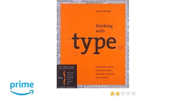 Thinking with Type (Design Briefs): Amazon.es: Ellen Lupton: Libros en idiomas extranjeros