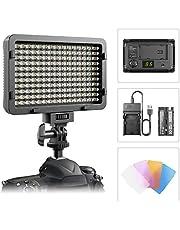 ESDDI 176 LED Ultrahoch Dimmbare Kamera Videoleuchte Panel für Canon, Nikon, Pentax, Panasonic, Sony, Samsung, Olympus und andere Digitale SLR-Kameras/Camcorder