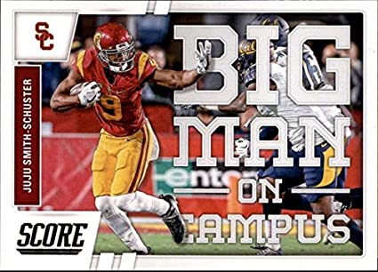 a14072a84ec 2017 Score Big Man on Campus  4 Juju Smith-Schuster USC Trojans Football  Card