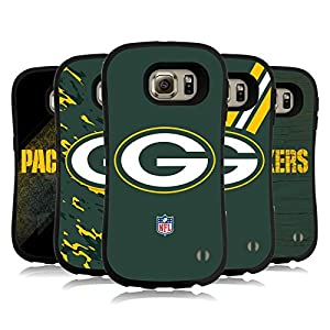 Official NFL Green Bay Packers Logo Hybrid Case for Samsung Galaxy S6