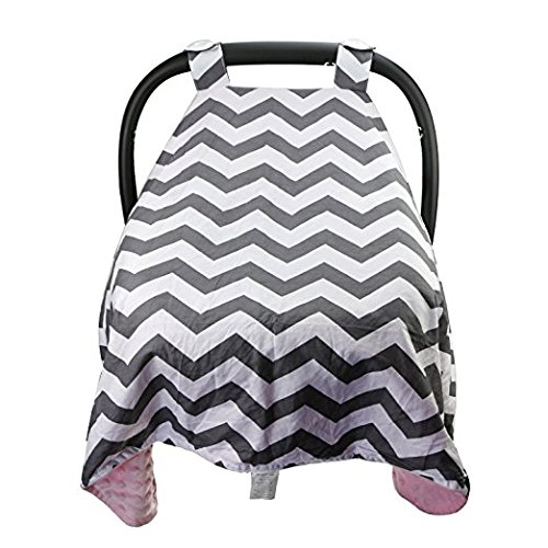 Baby Car Seat Covers for Girls and Boys (PINK) by nyc