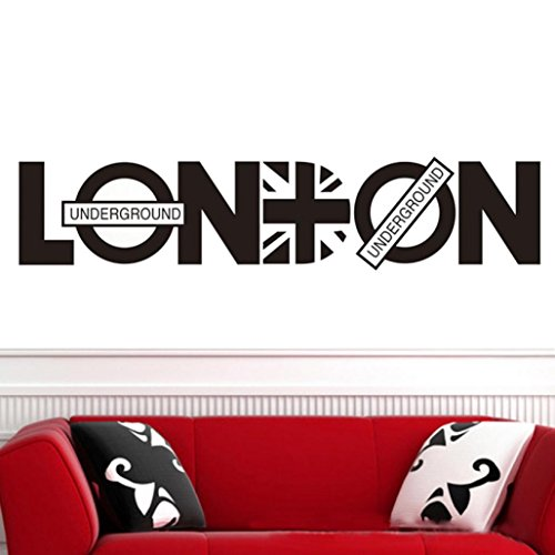 Wall Decals London Wall Stickers Decorative Wall Stickers - 6