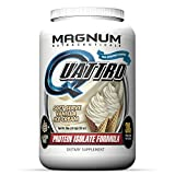 Cheap Magnum Nutraceuticals Quattro Protein Powder – 2lbs – Vanilla Ice Cream – Protein Isolate – Lean Muscle Creator – Metabolic Optimizer