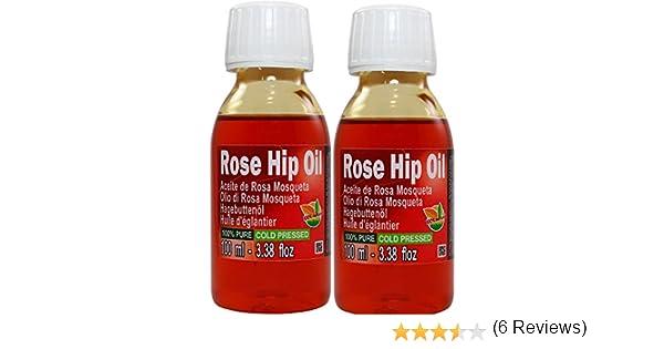 Set de Dos (2) Botellas Aceite Rosa Mosqueta 100% Puro Total 200ml ...
