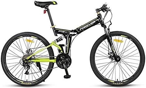 CHEZI Light bicycleBicicleta de montaña Plegable Bicicleta ...