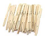 Oriental Creations 3.9 Inch Natural Bamboo Mini Forks for Home Party Catering Pack of 200