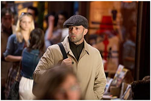 a4ef9d1edf Spy 8x10 Photo Jason Statham Walking in Cap and Khaki Trench Coat kn at  Amazon s Entertainment Collectibles Store