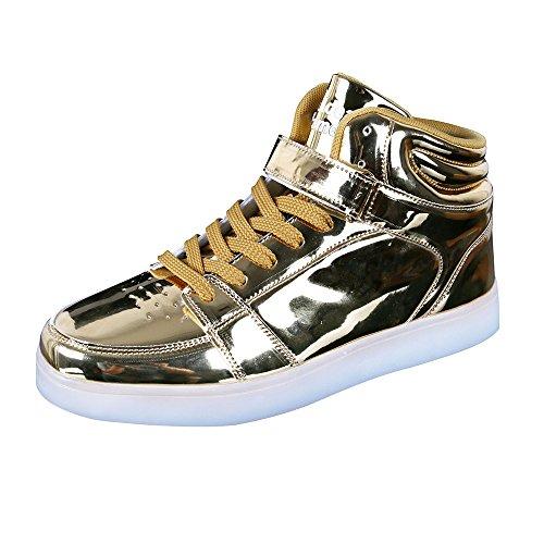 Peak IDEA FRAMES Girls Womens High Top Led Sneakers Light...