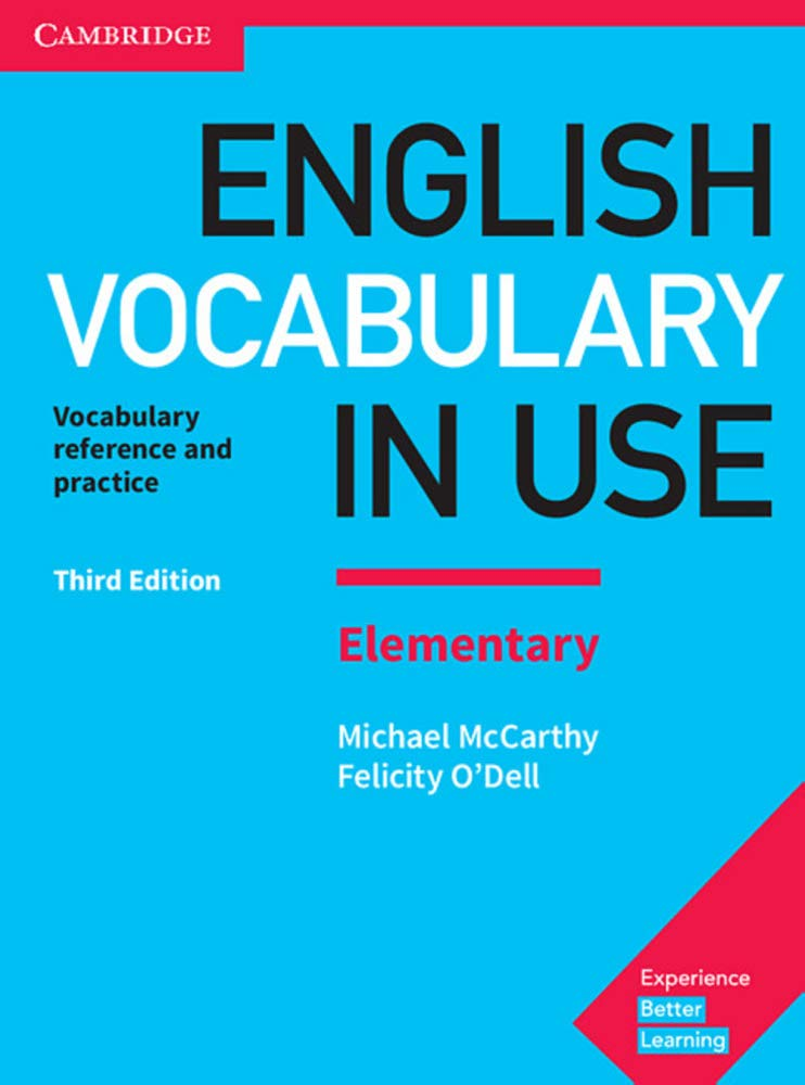 English Vocabulary in Use. Elementary. 3rd Edition. Book with ...