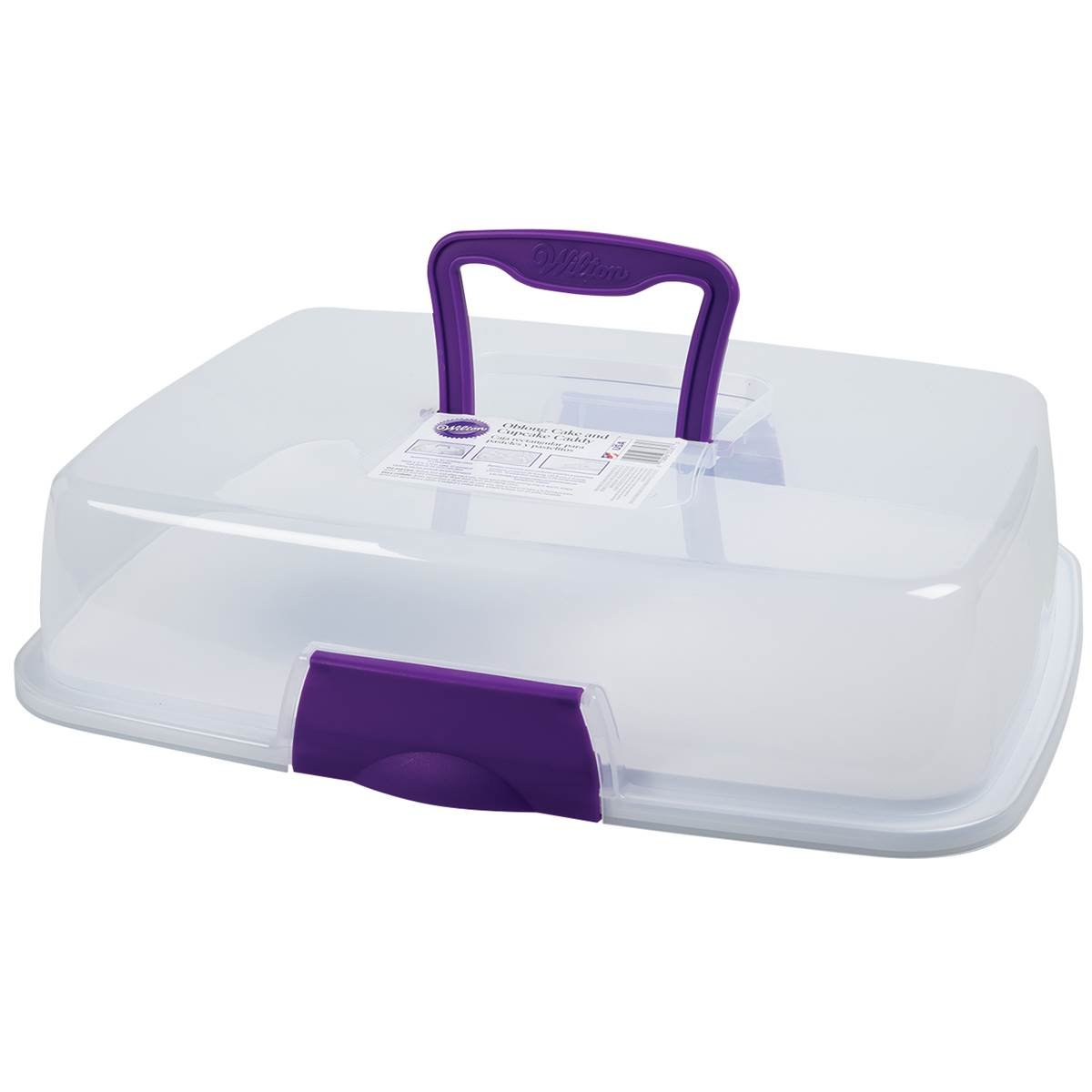 Wilton 2105-3281X Oblong Cake and Cupcake Caddy