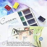 Sonnet Watercolour Paint Set - 24 Whole Pans - for