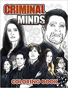 Criminal Minds Coloring Book: A Book With High Quality ...