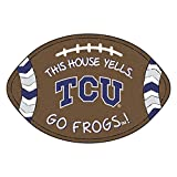 Texas Christian University Football Southern Style Rug