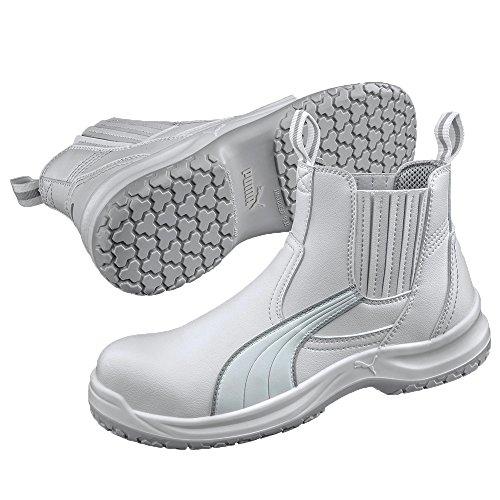 37 Taille 37 Clear Sécurité De Chaussures 630380 Puma Chelsea Src Mid Blanc S2 OvxRgPq