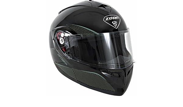 Amazon.es: Zoan Optimus Solid casco de esquí con doble lente escudo (negro, XL)