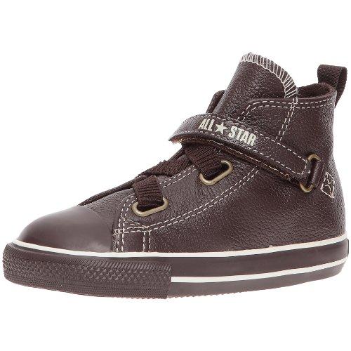 Converse - Zapatillas de cuero para niños Marrón