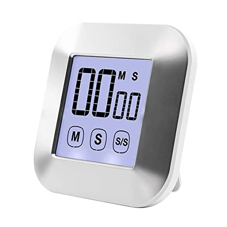 Flydeer timer da cucina digitale touch screen timer ampio display ...