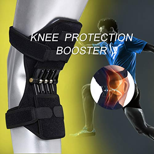 1 Pair Humerus Booster Spring Knee Support Brace for Mountaineering Squat - Caster Brace