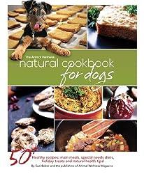 Dogs food Natural Cookbook