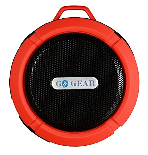 Wireless Waterproof Bluetooth Speaker, 5w Waterproof Bluetooth Shower Speaker - Waterproof Wireless Bluetooth Shower Speaker by Go Gear - Durable Silicone, Hands Free Music Or Calls, Clear Quality by Go Gear