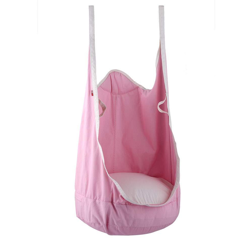 Eggdel Frog Hanging Pod Swing Seat Indoor and Outdoor Hammock for Children to Adult - Blue Happypie
