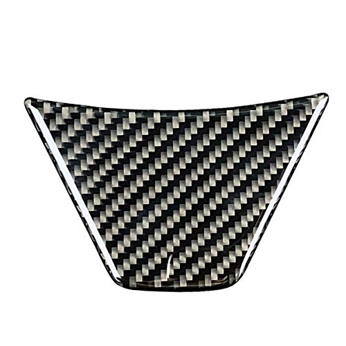 Interior Accessories Carbon Fiber Car Steering Wheel Frame Sticker Cover Trim for Toyota Camry ()