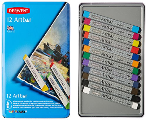 Derwent Art Supplies, Artbar Water Soluable Bars, Creamy...