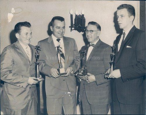 1962 Vintage Picture - Vintage Photos 1962 Photo Dick Lockwood Henry Bulens Calnan Dan Guiliotti Century Club Bowling