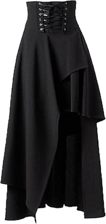 Women's Gothic Ruffle Top