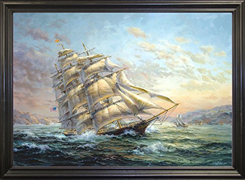 - Clipper Ship Surprise Framed Print 23.00