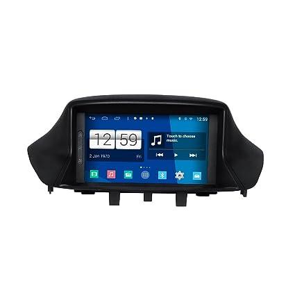 Navegación de la pantalla táctil del GPS de la radio del coche del androide 4.4.