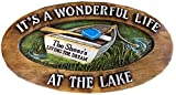 Piazza Pisano Lake Welcome Personalized Large Sign