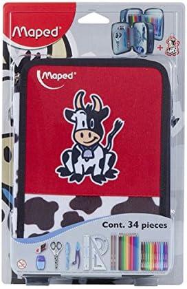 /Plumier avec motif petite vache Maped 967432/ 1/unit/é