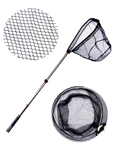 Collapsible carbon Fiber Fishing net