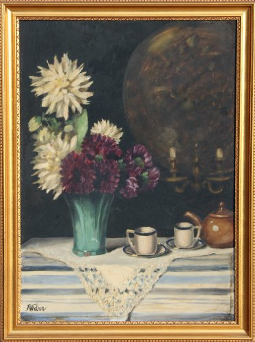 (Still Life with Flowers)