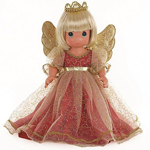 [Precious Moments Christmas Memories Blonde Doll] (Precious Moments Angel Doll)