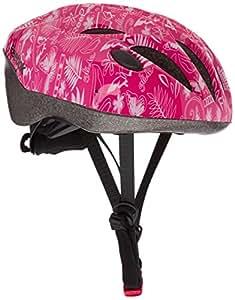 Reebok Cycling - Casco de ciclismo para niña para bicicleta de paseo, color rosa ( 50 - 54 cm )