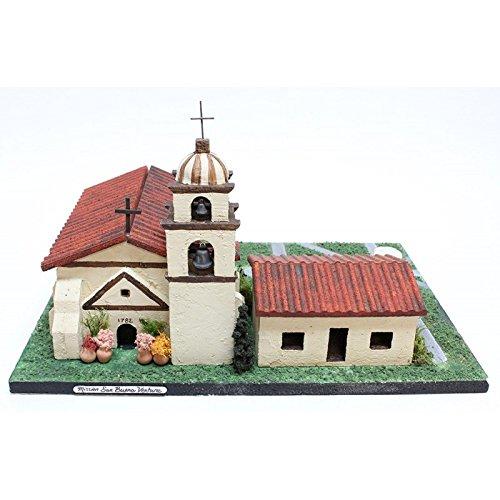 California Mission Model Kit Santa Buenaventura