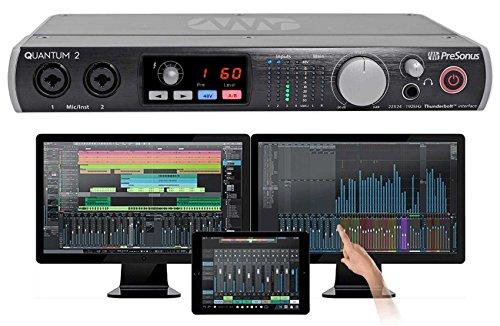 PRESONUS Quantum 2 22x24 Recording Interface w/ 2 XMAX preamps+Software Upgrade