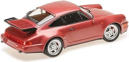 Minichamps Modellauto 1:18 Porsche 911 964 Turbo 3,6 gelb 1990 limitiert 600 St