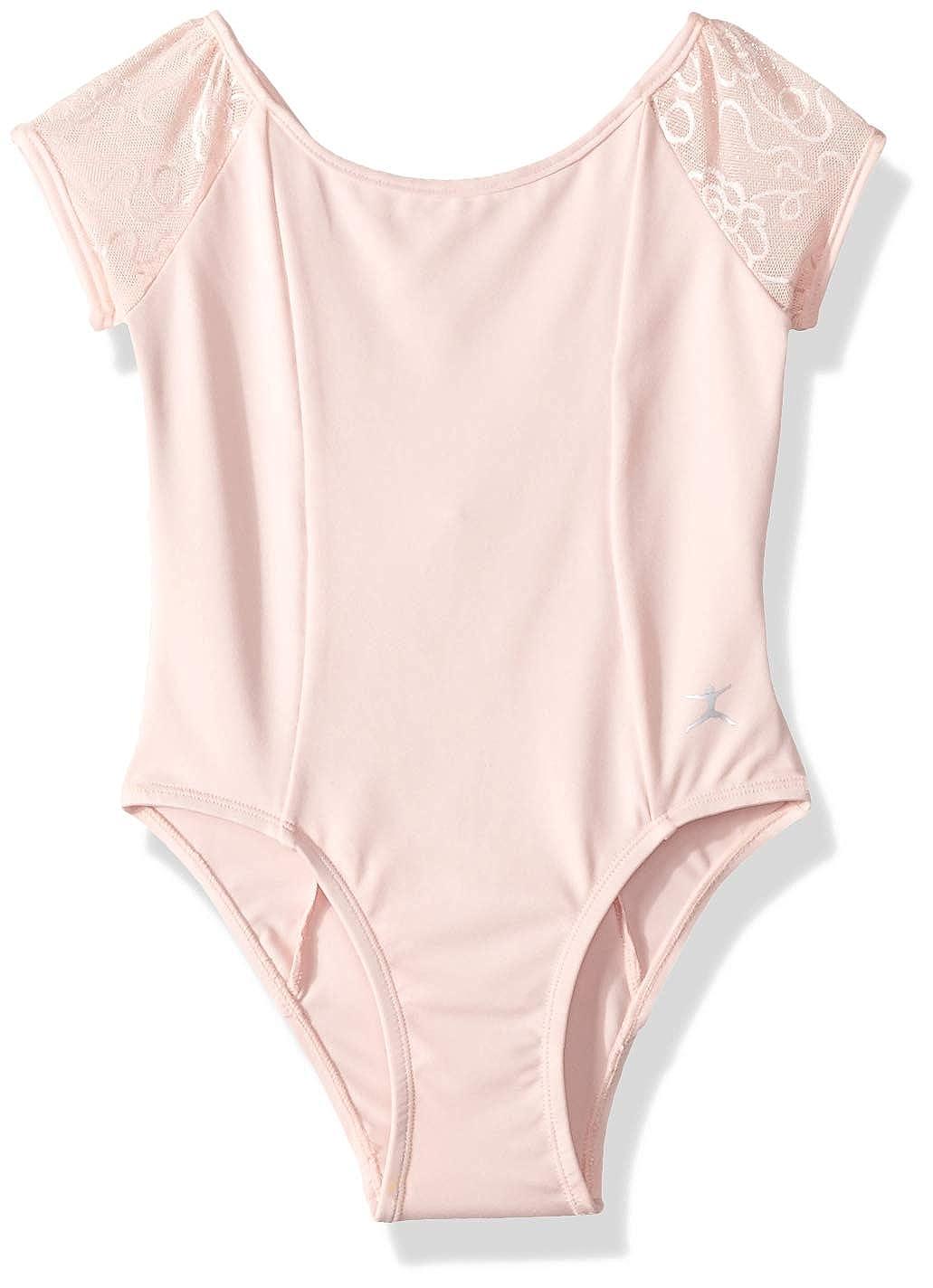 Danskin Girls Short Sleeve Leotard 7266