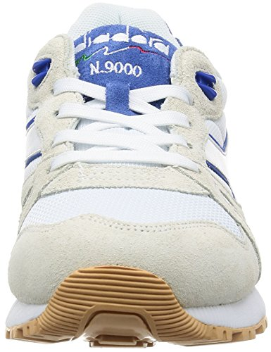 BASKET SNEAKERS MODE HOMME DIADORA N9000 III WHITE / PRINCESS BLUE